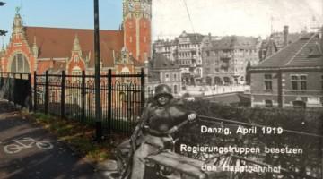 Dworzec w Gdańsku 1919/2016
