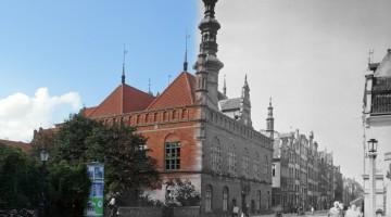 Ratusz Staromiejski w Gdańsku 1935/2016