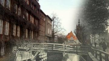 Gdańsk ulica Na Piaskach 1908/2016