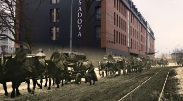 Gdańsk - Ulica Łąkowa 1941/2017